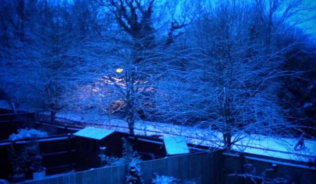 Bit more snow today…