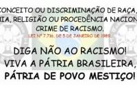 PRECONCEITO OU DISCRIMINAÇÃO DE RAÇA1