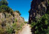 Canyon of the railway