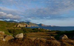 Capo Pecora al tramonto