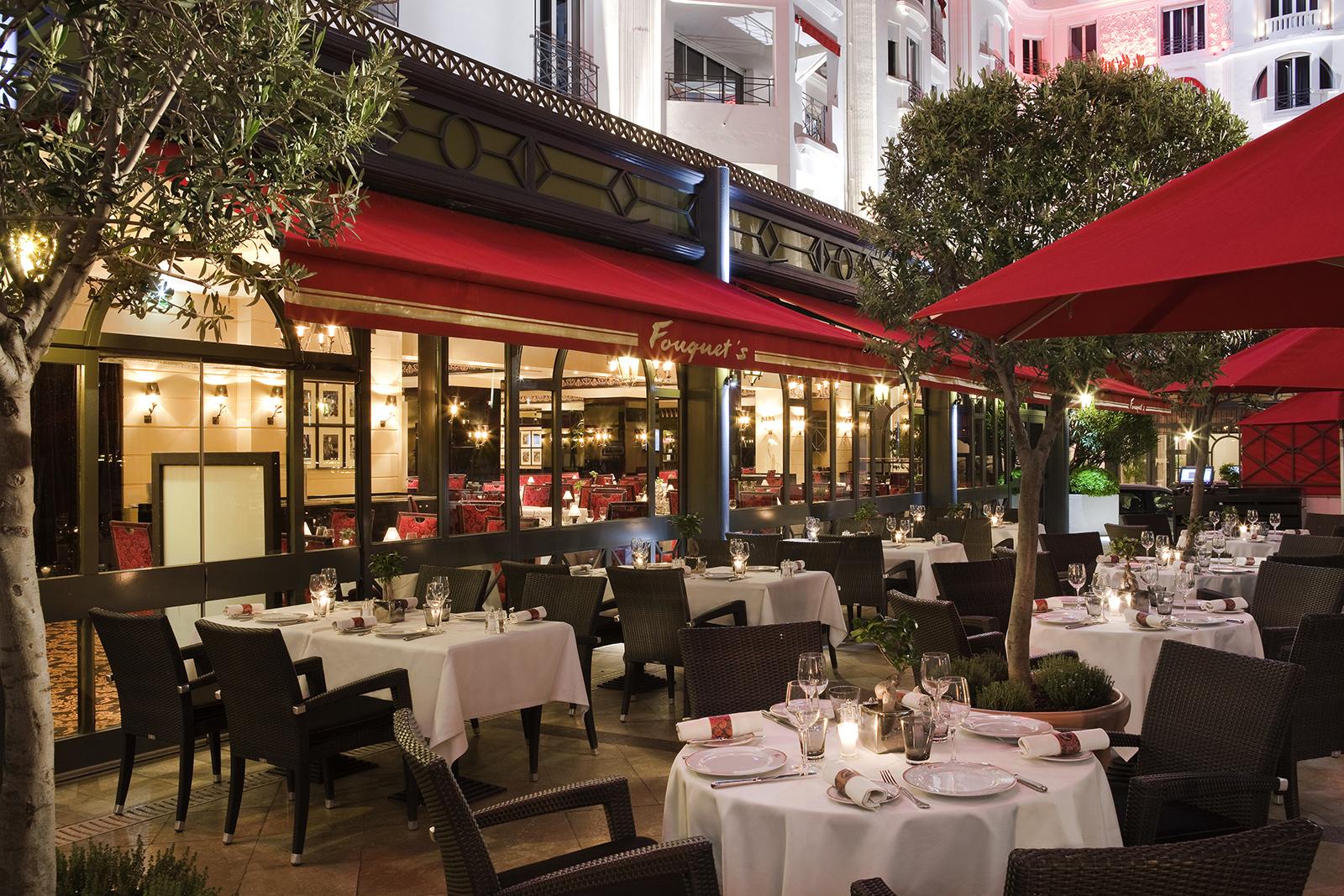 Restaurant Fouquet's - Terrasse 1