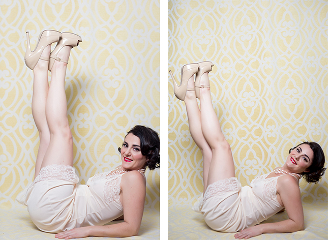 Peekaboo Portland Boudoir Photography