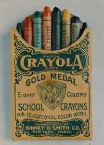 Crayola Crayon box