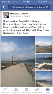 Peekskill waterfront debut