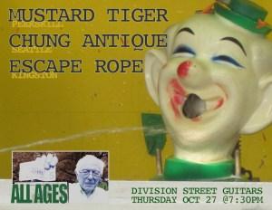 Mustard Tiger show
