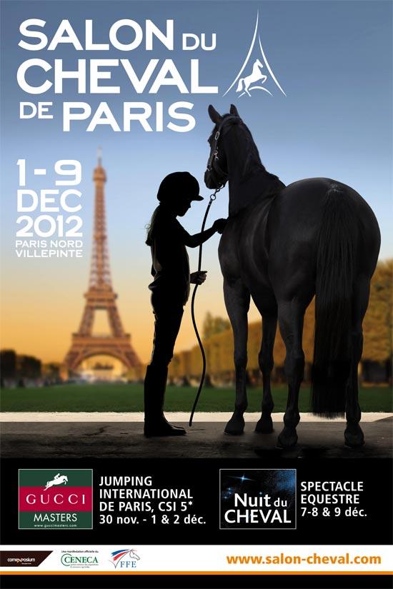 Salon du cheval 2012 l affiche pegasebuzz le cheval for Place salon du cheval