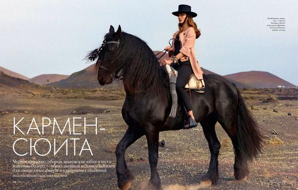 www.pegasebuzz.com | Andreea Diaconu by Asa Tallgard for ELLE Russia, june 2012