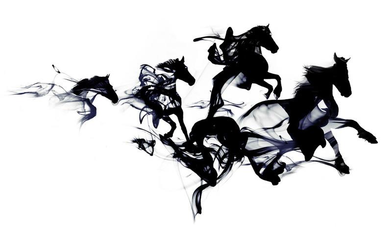 Robert Farkas : black horses