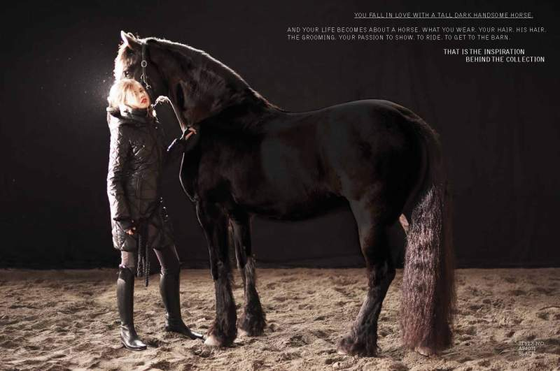 Equestrian fashion 2013