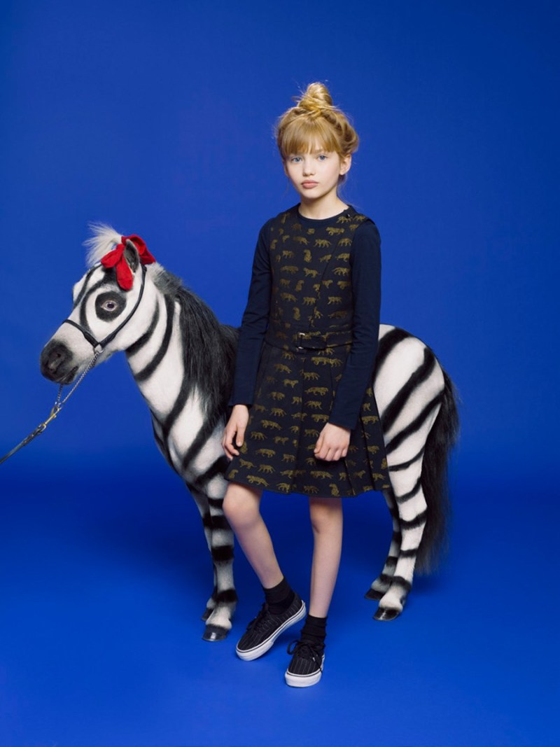 Kenzo Kids fall-winter 2013 by Anna Schiffel