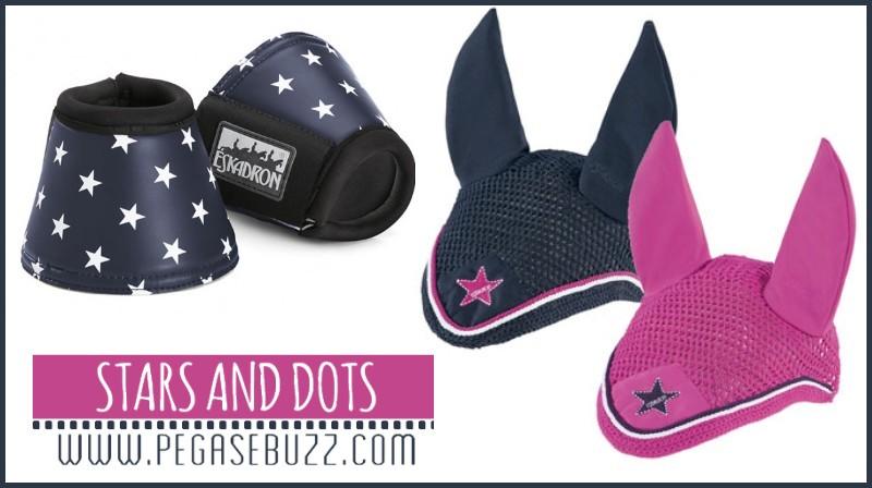 www.pegasebuzz.com | Equestrian fashion : stars and dots