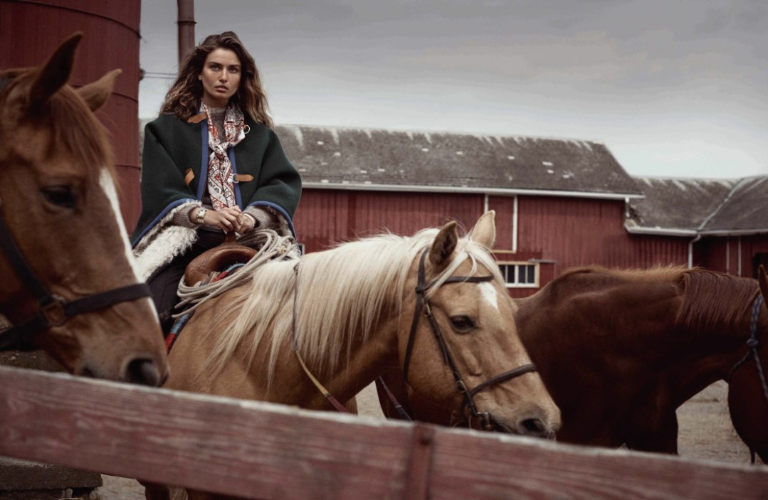 www.pegasebuzz.com | Andreea Diaconu by Benny Horne for Vogue Spain, october 2015