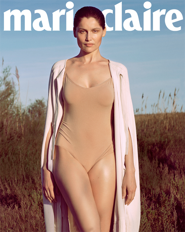 www.pegasebuzz.com | Laetitia Casta by Nick Hudson for Marie-Claire France, juillet 2016