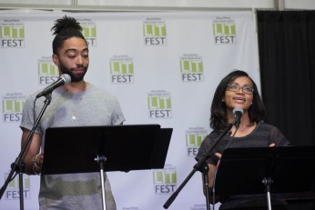 Introducing Rutherford's Travels at the Printers Row Lit Fest