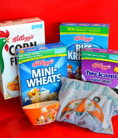 kelloggs prize pack
