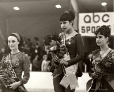 Peggy Fleming 1965 Worlds