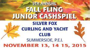 Fall Fling Jr. Cashspiel starts today in Summerside. Live results at PEICurling.com