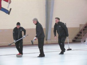 Casey and Newson advance to 1st Tankard section final