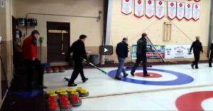 PEI Tankard Opening Ceremonies-video of piping in the teams