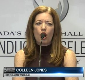 Colleen Jones: Thought I was being punk'd when Canadian Sports Hall of Fame called (Sportsnet)