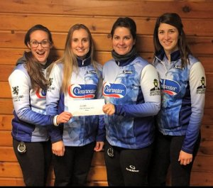 Robyn MacPhee rink finishes as runner-up to Jill Brothers team at Lady Monctonian