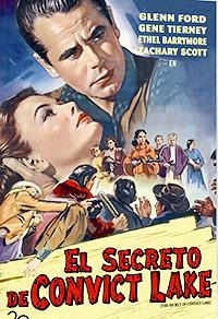 Cartel de la película El secreto de Convict Lake