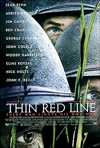 Cartel de la película La delgada línea roja