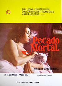 Cartel de la película Pecado mortal