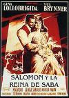 Cartel de la película Salomon y la reina de Saba