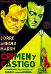 Cartel de la película Crimen y castigo
