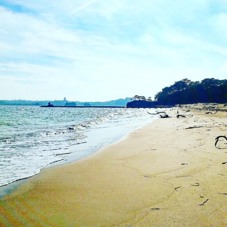 漁師 うみ 松島 砂浜