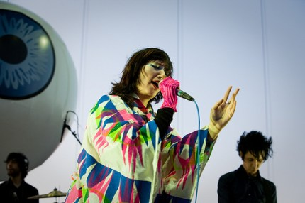 Karen O of the Yeah Yeah Yeahs. (Photo by Christopher Nelson)