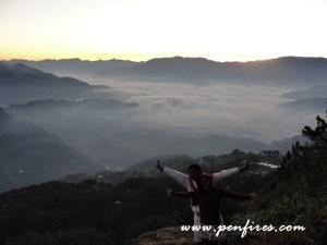 Kiltepan Sunrise: A Walk in the Clouds