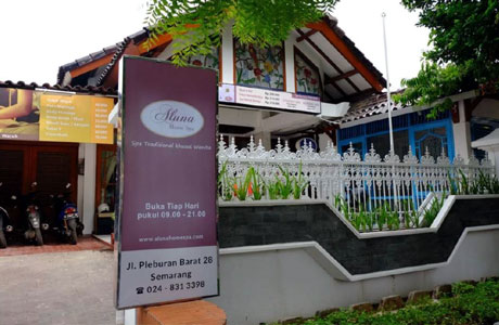 Aluna Home Spa (sumber: Traveloka)