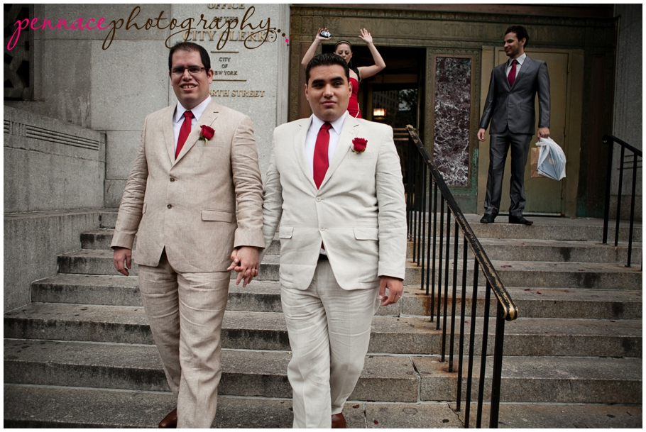 Mexican couple married in NYC