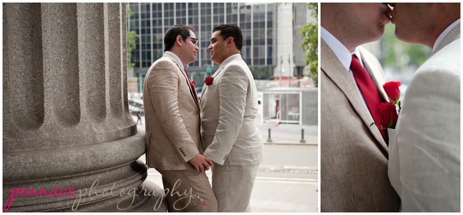 NYC City Hall wedding photographer