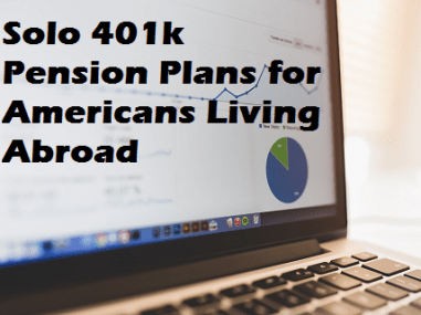 solo 401k pension plan