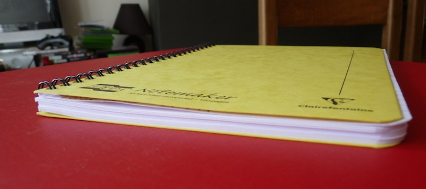 Clairefontaine Europa Notemaker end on