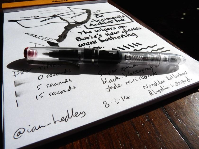 De Atramentis Archive Ink review