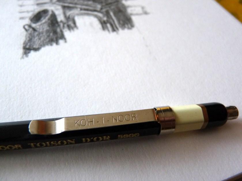 Koh-I-Noor Toison D'Or Clutch Pencil 2mm 5900