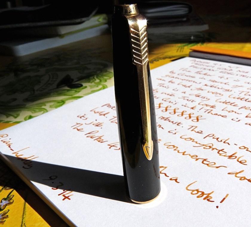 Parker 45 fountain pen cap
