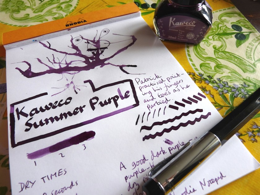 Kaweco Summer Purple ink review