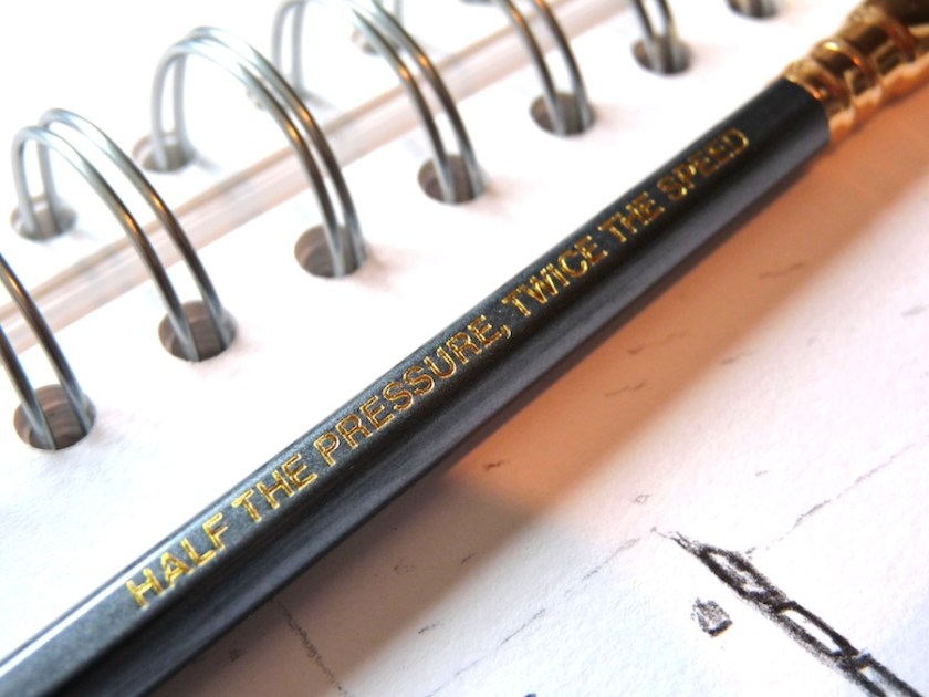 Palomino Blackwing 602 pencil half the pressure twice the speed