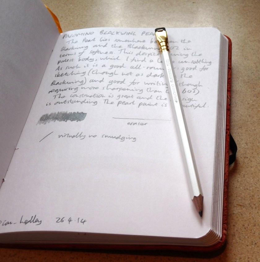 Palomino Blackwing Pearl pencil review