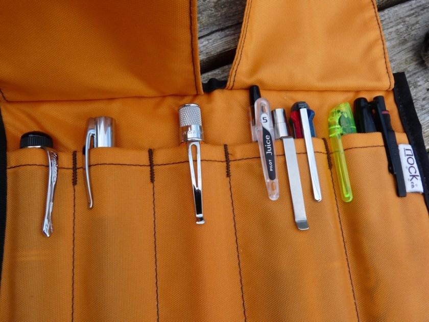 Nock Co Sassafras pen case fully loaded