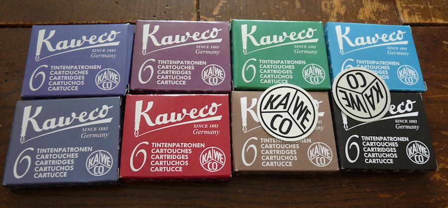 Kaweco ink cartridge giveaway