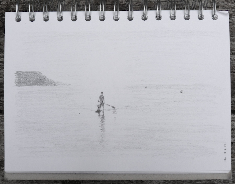 Paddling in the mist