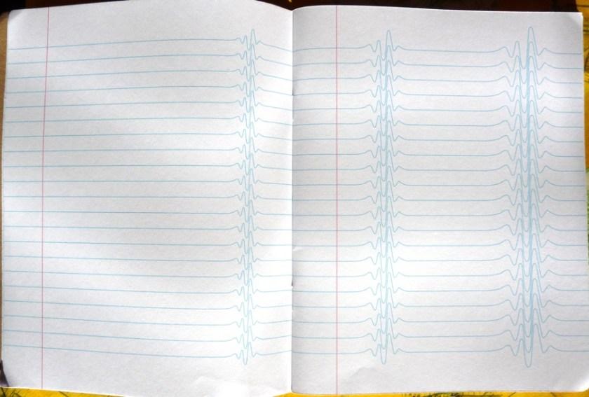 Inspiration Pad notebook insane lining