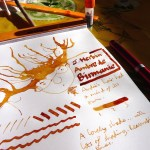 J Herbin Ambre de Bermanie ink review