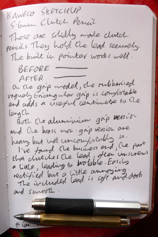 Kaweco Sketch Up handwritten review